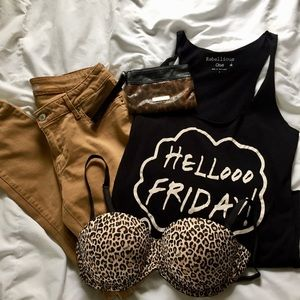 Hello Friday Graphic Tank